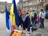 La journée sous les drapeaux ukrainiens et français