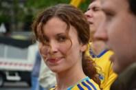 Lina, coureuse ukrainienne