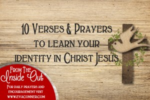 Learn your identity in Christ Jesus.