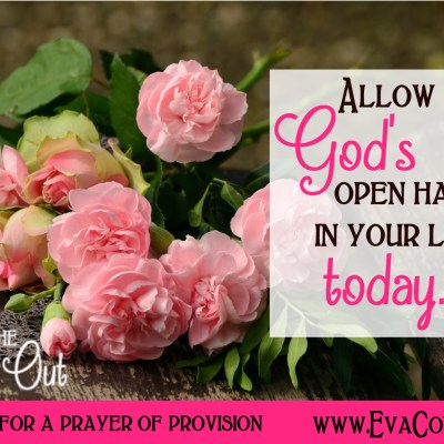 Daily Prayer – Allow God's Open Hand Today
