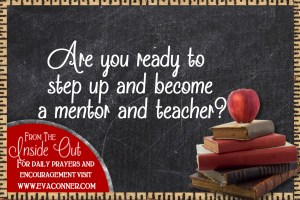 Are you ready to step up and teach others?
