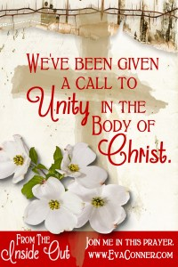 A clal to unity in the Body of Christ.