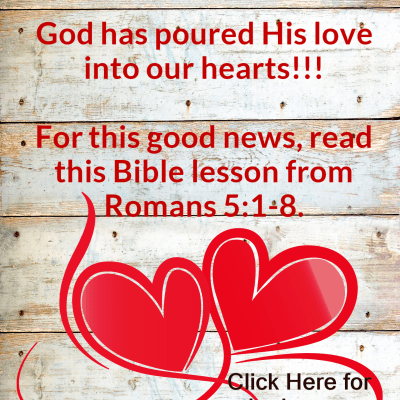 Romans 5:1-8 – Peace and Hope are Within Reach
