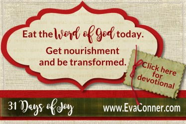 Day 19 Eat the Word and Be Filled
