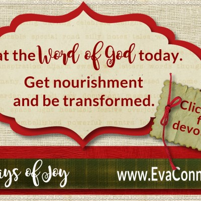 31 Days of Joy ~ Day 19 Eat and Be Full
