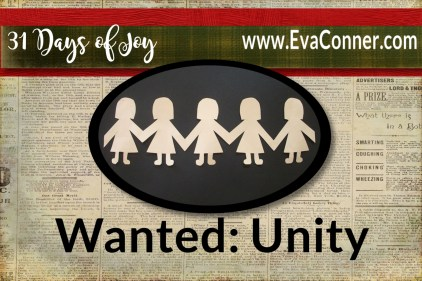Wanted in the Body: Unity!