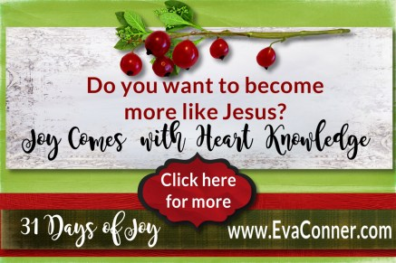 Do you want to become more like Jesus? Day 7 of 31 Days of Joy.