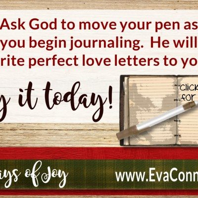 31 Days of Joy – Day 9 Write It Down