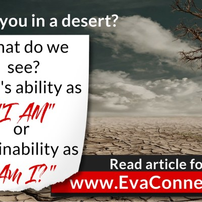 Are You in a Dry, Cracked Desert?