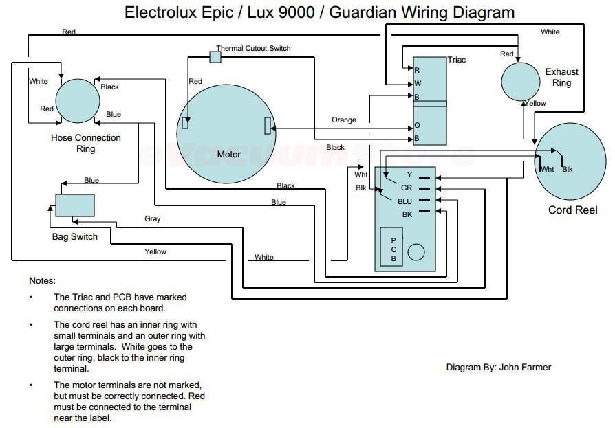 Oreck Xl Wiring Diagram