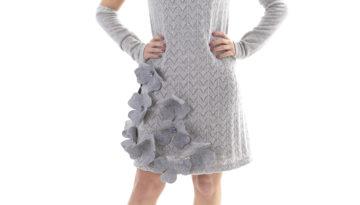 AB2002-Abito-maglia-donna-grigio-in-lana