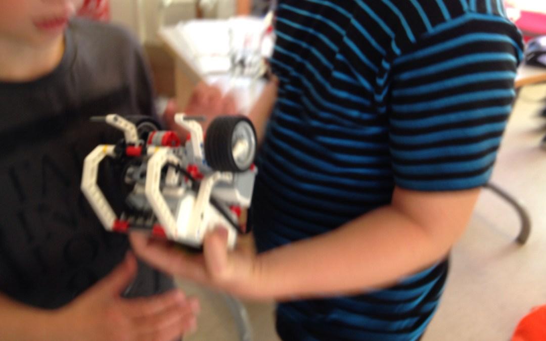 LEGO Mindstorms EV3 robotter i 2A