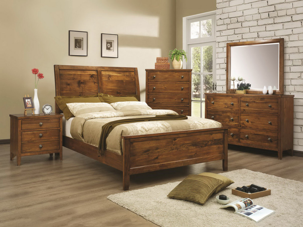 Rustic Wood Bedroom Furniture