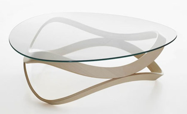 round modern glass coffee table | eva furniture
