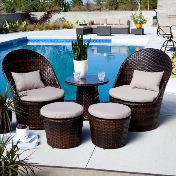 Small Patio Furniture   EVA Furniture 15 Small Patio Furniture for Small Spaces