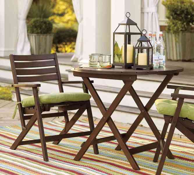 Wood Small Patio Furniture Sets   EVA Furniture Wood Small Patio Furniture Sets