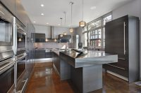 contemporary-stainless-steel-kitchen-countertops-and-appliances