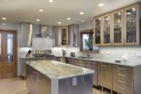 stainless-steel-kitchen-countertops-microvawe