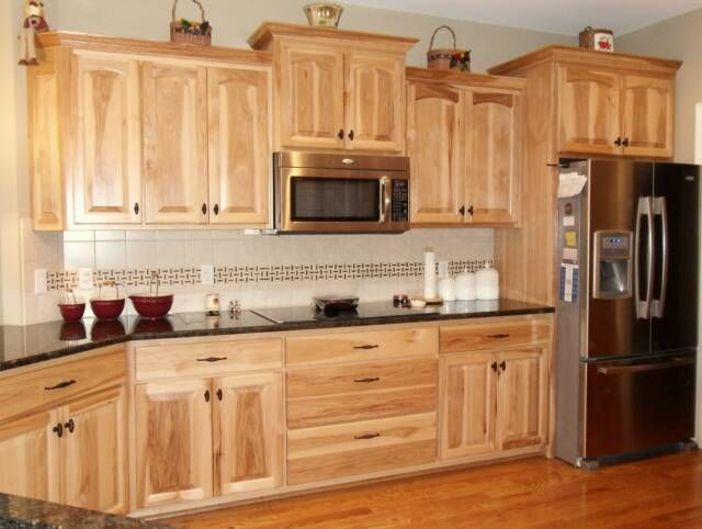 20 Rustic Hickory Kitchen Cabinets Design Ideas EVA
