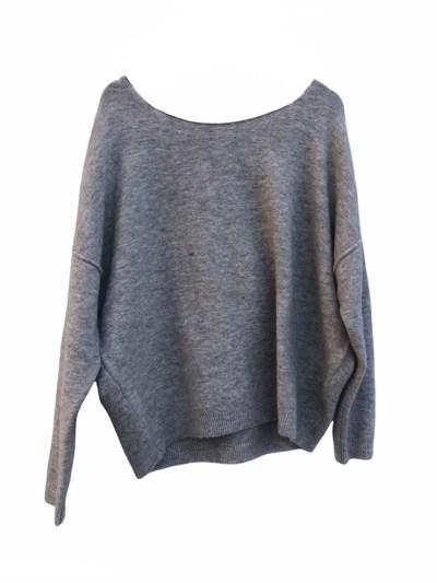 greyish tif tiffy sweater rola