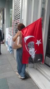 Drapeau Atatürk