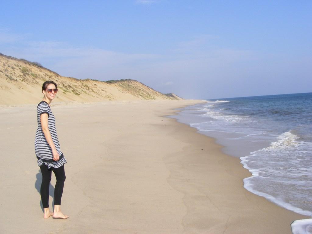 Eva Langston on Cape Cod