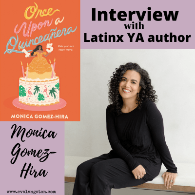 Interview with Monica Gomez-Hira, author of Once Upon a Quinceanera