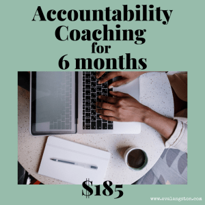 Accountability Coaching 6 months