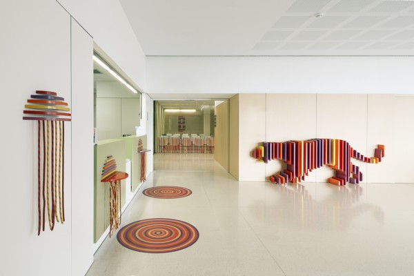 """The animal hideout"", part of the renovation of the Sant Joan de Déu children's hospital in Barcelona."