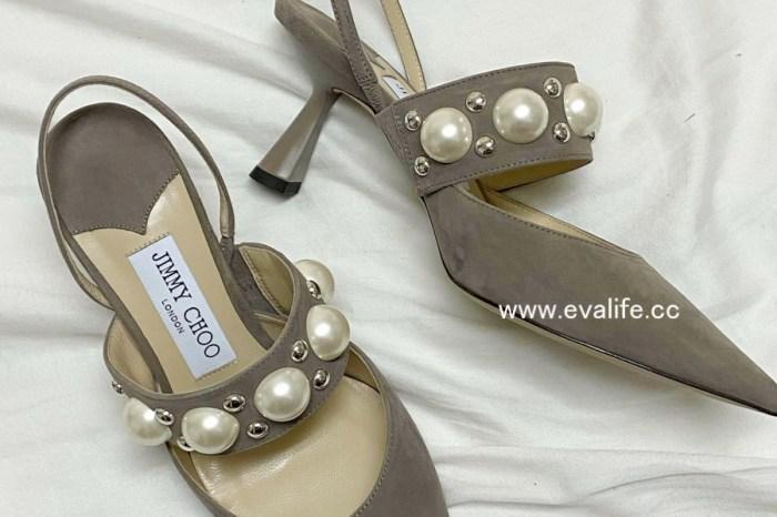 Giglio開箱JIMMY CHOO珍珠鞋,618折扣開跑! 24S滿250歐元,立享82折,來買Balenciaga皮帶 / See by Chloe