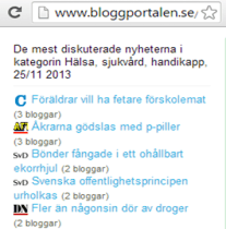 Bloggportalen Corren 1a