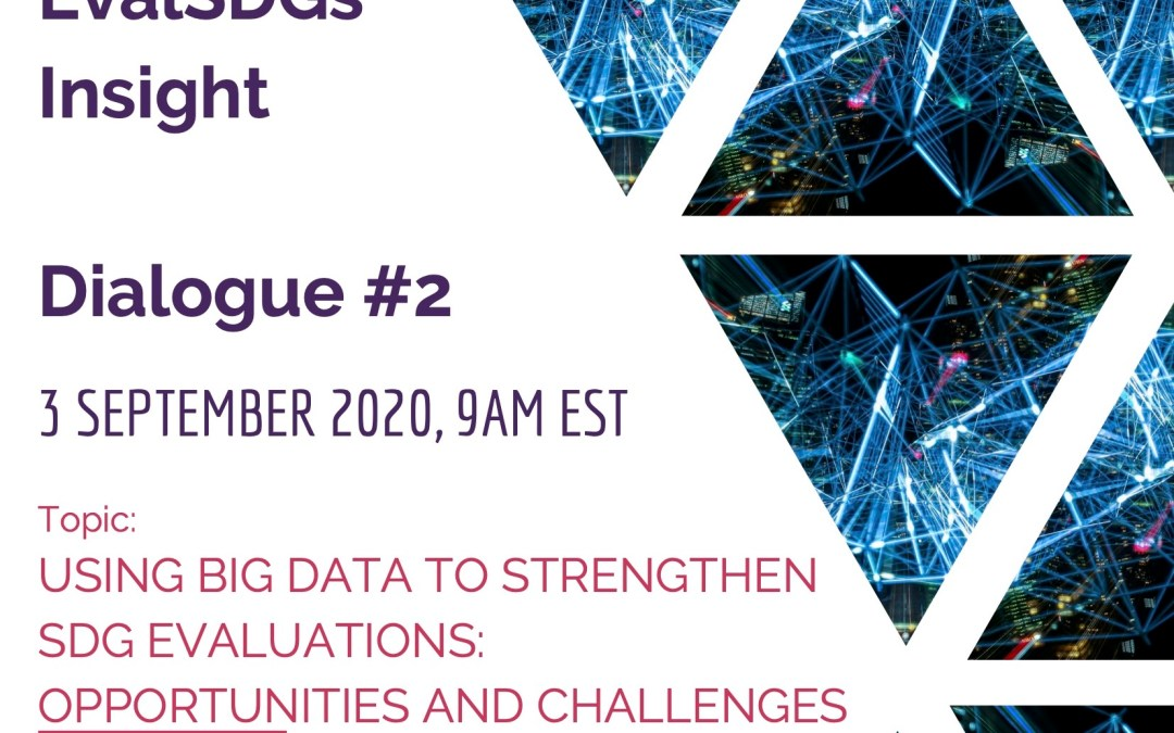 EVALSDGs Insight Dialogue #2: Using Big Data to Strengthen SDG Evaluations: Opportunities and Challenges