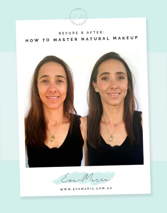 Northern Beaches Makeup Artist Before & After: How to master natural makeup
