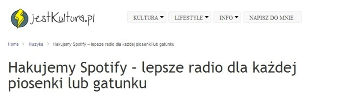 jestkultura spotify