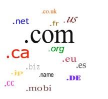 extensiones de nombres de dominio
