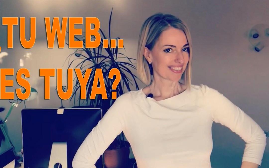 ¿Tu web es tuya?