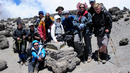 At Lava Tower (4600m)