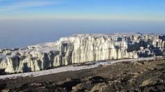 Glaciers at the summit