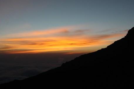 Sunset over Barafu