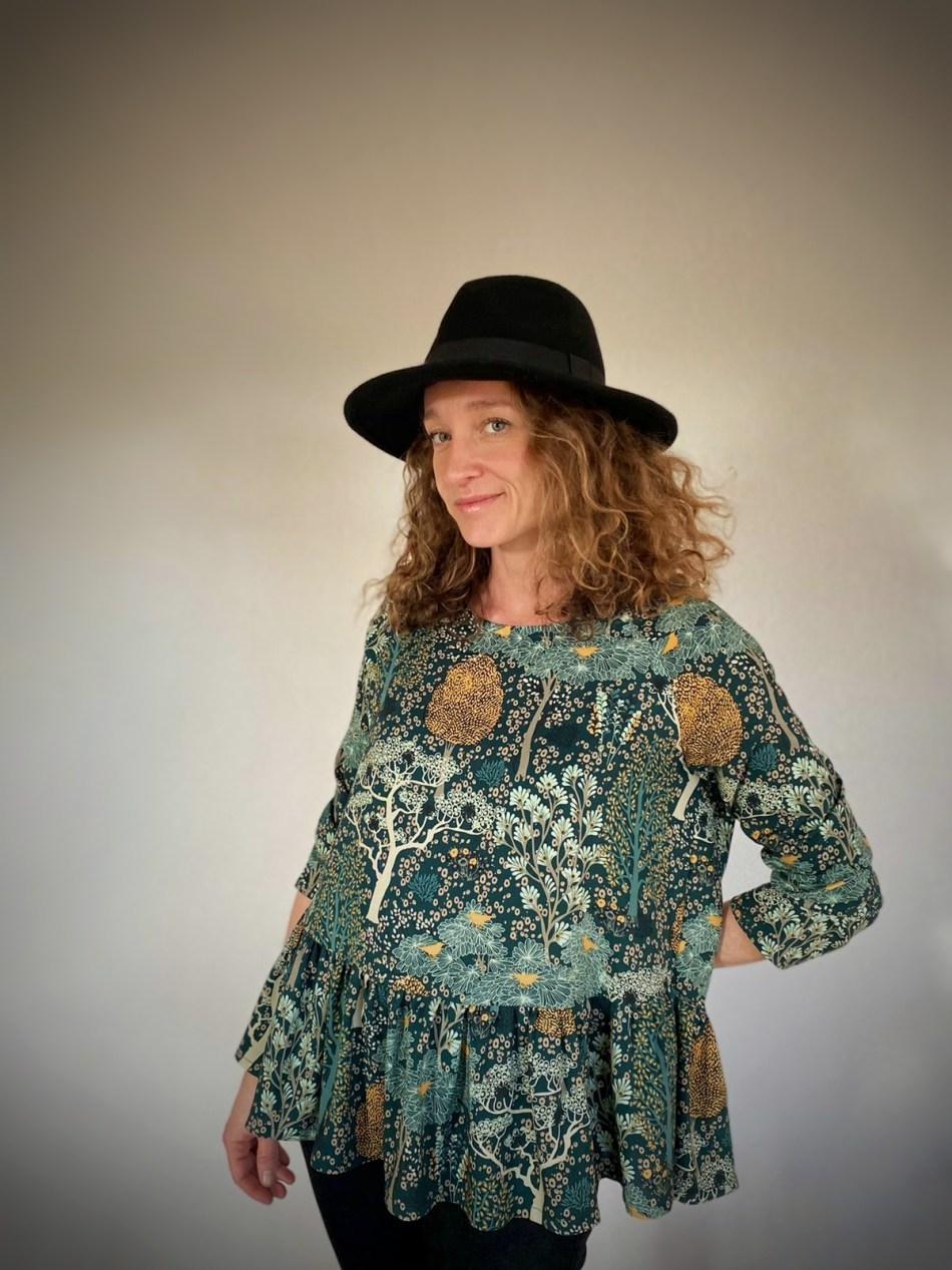 blouse femme jardin oriental evamia 1