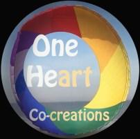 OneHeart logo black