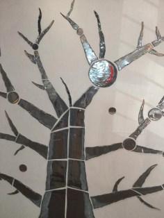 arte contemporanea ceramica YGGDRASIL