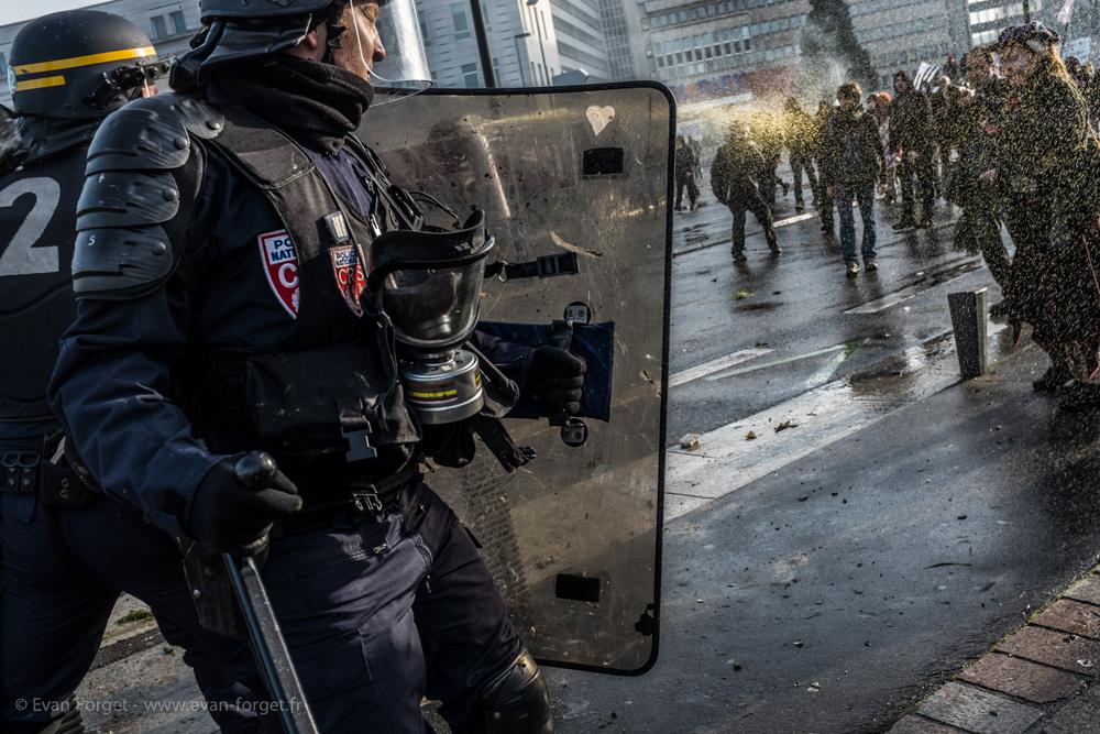 Emeute de Nantes - 22 Février 2014