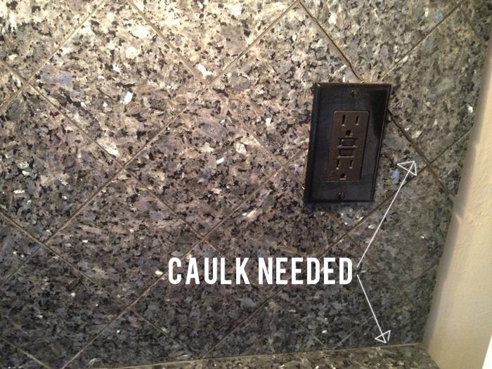 Caulk Party Part Ii Kitchen Edition Evan Katelyn