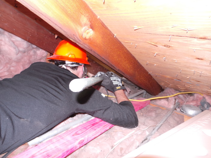 Attic Prep Part 6- Vent Chutes (4/6)