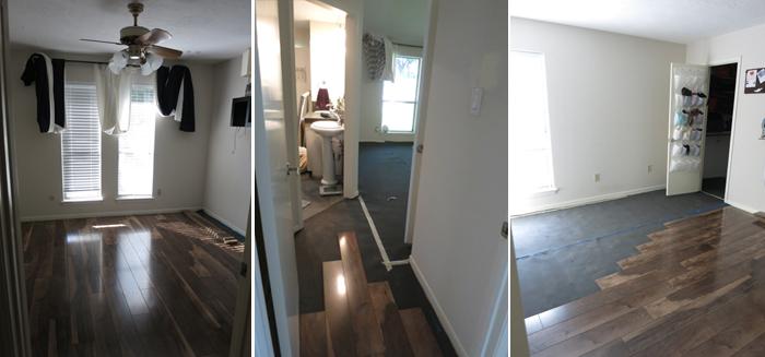 bedroom carpet tryptic progress