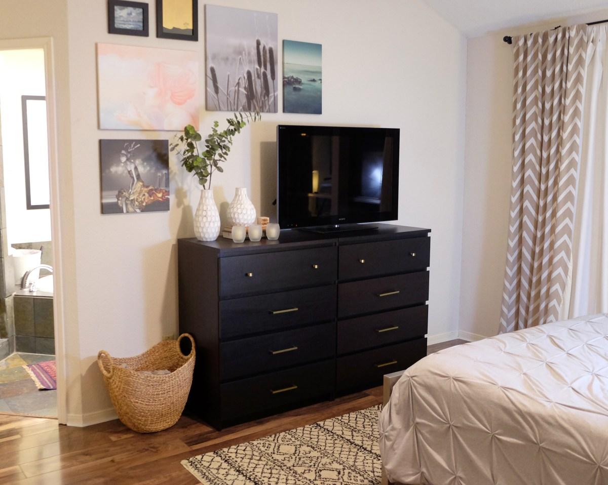 ikea malm dresser hack evan katelyn. Black Bedroom Furniture Sets. Home Design Ideas