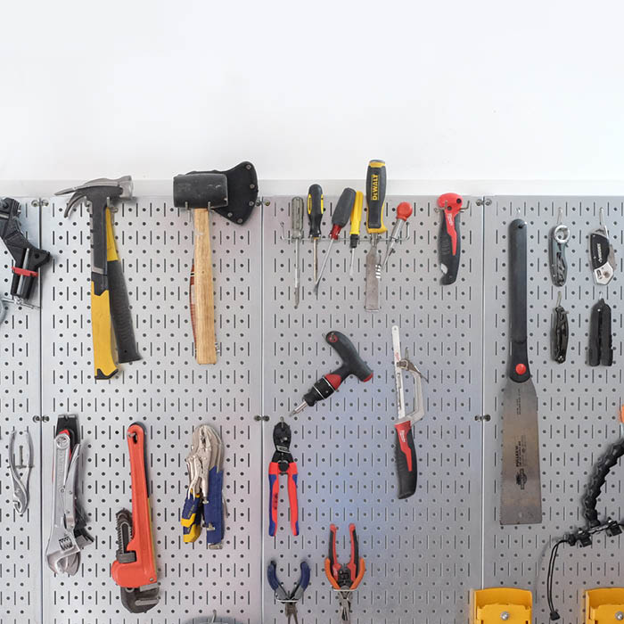 Garage storage ideas - Evan & Katelyn | Home DIY | Tutorials
