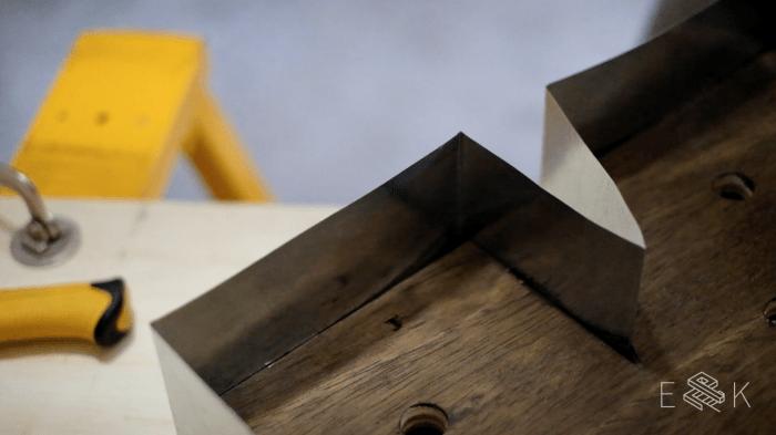 diy wood and metal marquee letters evan katelyn