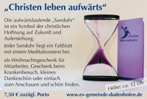 Anzeige-Sanduhr